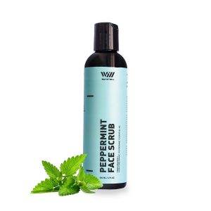 Way Of Will Peppermint Face Scrub Face Exfoliator